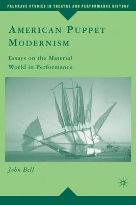 American Puppet Modernism book