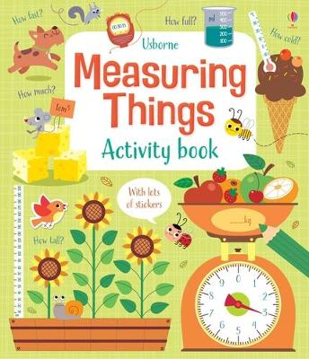 Measuring Things Activity Book by Lara Bryan
