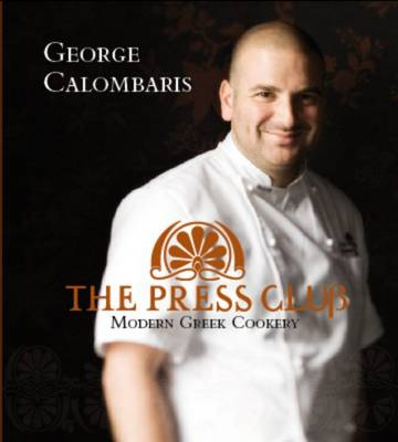 The Press Club: Modern Greek Cookery by George Calombaris