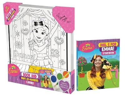 The Wiggles Emma!: Book and Paint-by-Numbers Canvas by The Wiggles