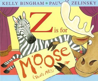 Z is for Moose by Kelly L Bingham