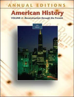 American History: v. 2 by Robert James Maddox