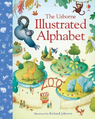 Illustrated Alphabet book