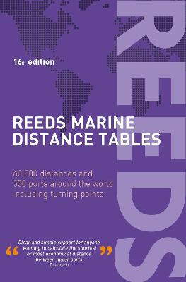 Reeds Marine Distance Tables 16th edition book