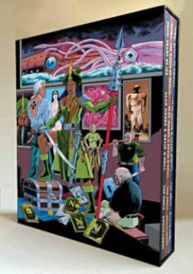 League Of Extraordinary Gentlemen Nemo Trilogy (Slipcase Edition) book