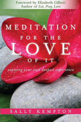 Meditation for the Love of it by Sally Kempton