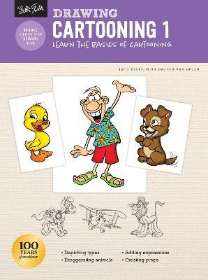 Drawing: Cartooning 1: Learn the basics of cartooning book