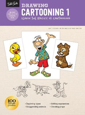 Drawing: Cartooning 1: Learn the basics of cartooning by Jack Keely