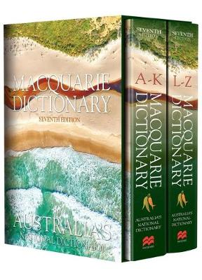 Macquarie Dictionary Seventh Edition by Macquarie Dictionary