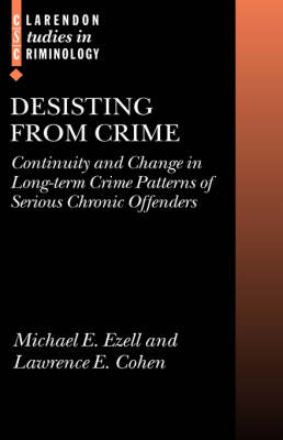 Desisting from Crime book