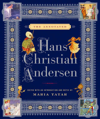 Annotated Hans Christian Andersen book