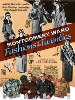Montgomery Ward Fashions of the Twenties book