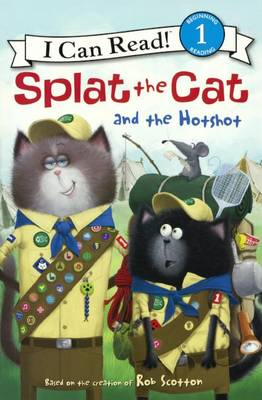 Splat the Cat and the Hotshot by Laura Driscoll