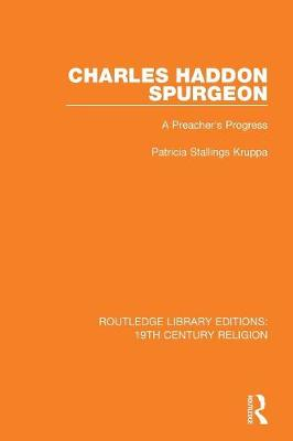 Charles Haddon Spurgeon: A Preachers Progress book