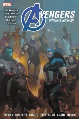 Avengers By Jonathan Hickman Omnibus Vol. 2 by Jonathan Hickman
