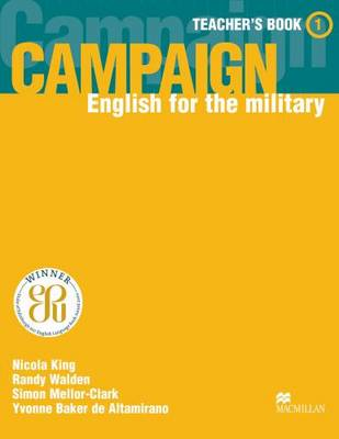 Campaign 1 Campaign 1 TB Teacher's Book by Randy Walden