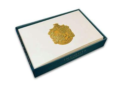 Harry Potter: Hufflepuff Foil Note Cards (Set Of 10) by Insight Editions