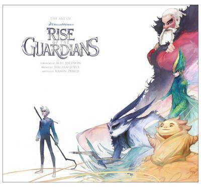Art of Rise of the Guardians book