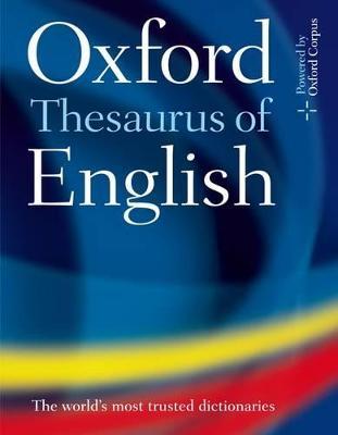Oxford Thesaurus of English |s au book