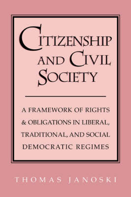Citizenship and Civil Society by Thomas Janoski