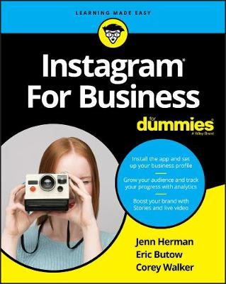 Instagram For Business For Dummies book