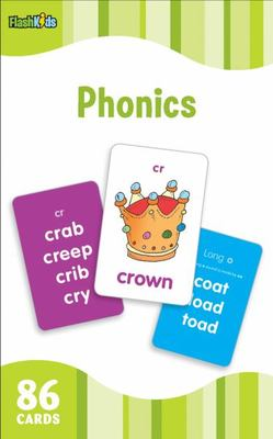 Phonics (Flash Kids Flash Cards) by Flash Kids Editors