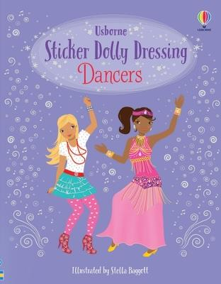 Sticker Dolly Dressing Dancers book