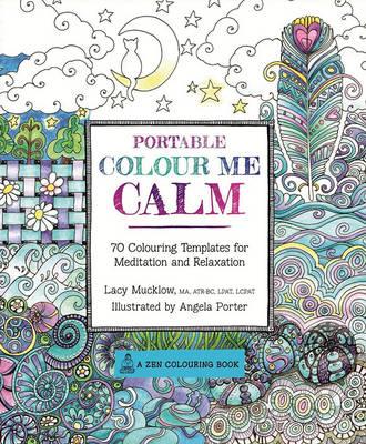 Portable Color Me Calm book