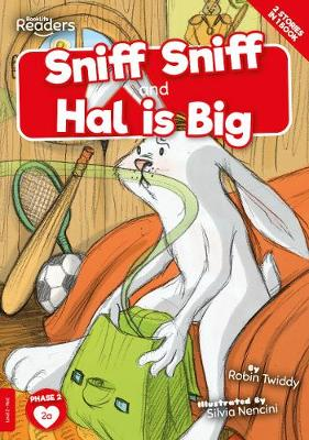 Sniff Sniff and Hal is Big book