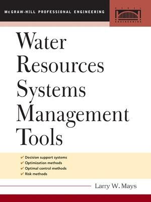 Water Resource Systems Management Tools book
