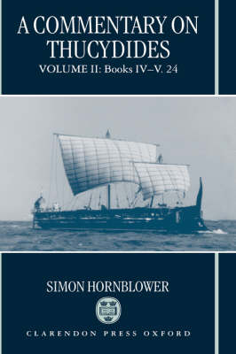 A Commentary on Thucydides by Simon Hornblower