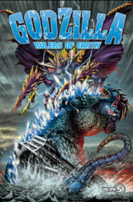 Godzilla Rulers of Earth Volume 5 by Jeff Zornow