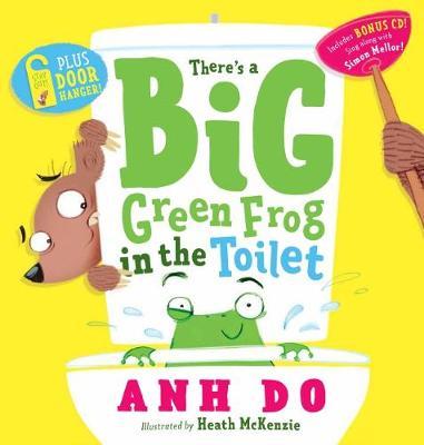 Big Green Frog + Door Hanger book