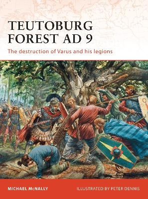Teutoburg Forest AD 9 book
