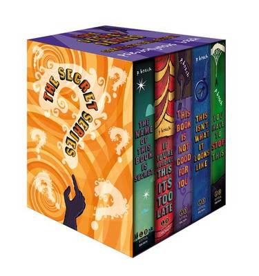The Secret Series Complete Collection by Pseudonymous Bosch
