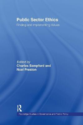 Public Sector Ethics by Noel Preston