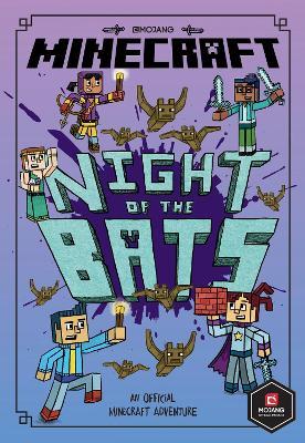 Minecraft: Night of the Bats (Minecraft Woodsword Chronicles #2) (Woodsword Chronicles) by Nick Eliopulos