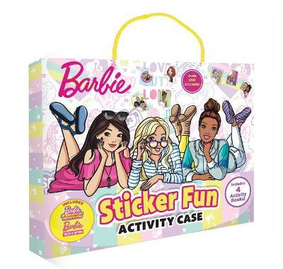 Barbie: Sticker Fun Activity Case (Mattel) book