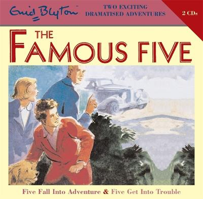 Famous Five: Five Fall Into Adventure & Five Get Into Trouble book