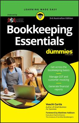 Bookkeeping Essentials For Dummies by Veechi Curtis