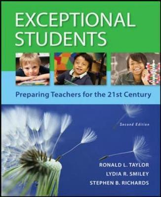 Exceptional Students: Preparing Teachers for the 21st Century (Int'l Ed) by Ronald L. Taylor