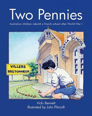 Two Pennies by Vicki Bennett