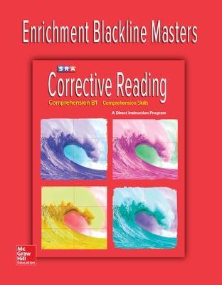 Corrective Reading Comprehension Level B1, Enrichment Blackline Master book