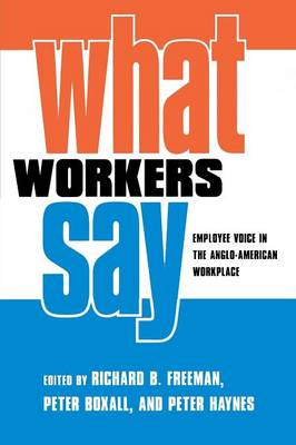 What Workers Say by Peter Boxall