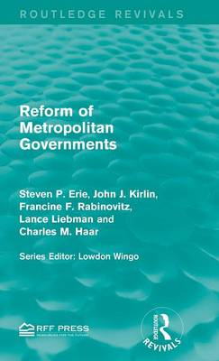 Reform of Metropolitan Governments by Steven P. Erie