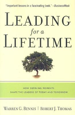 Leading for a Lifetime book