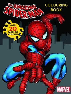 Marvel Spider-Man Colouring Book by
