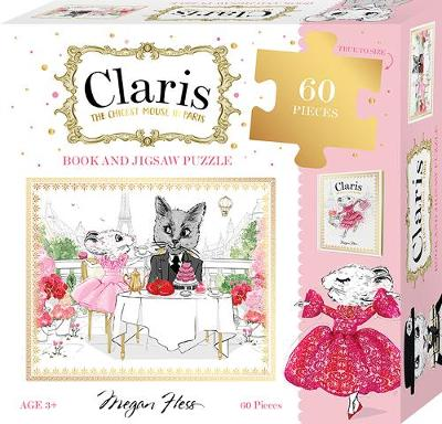 Claris: Book and Jigsaw Puzzle Set: Claris: The Chicest Mouse in Paris by Megan Hess