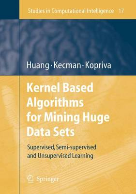 Kernel Based Algorithms for Mining Huge Data Sets by Vojislav Kecman