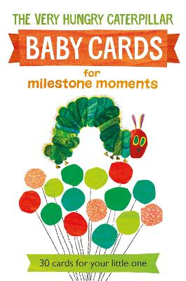 Very Hungry Caterpillar Baby Cards for Milestone Moments by Eric Carle